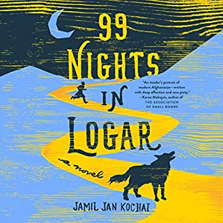 99 Nights in Logar audiobook cover art