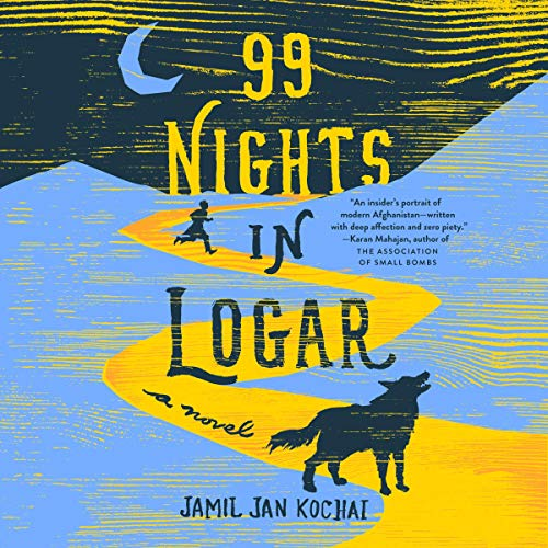 99 Nights in Logar audiobook cover art