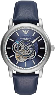Emporio Armani Chronograph Automatic Blue Dial Men's Watch AR60011