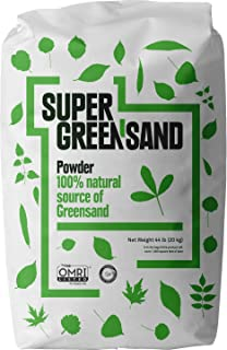 Super Greensand Powder, 70 Minerals and Trace Elements, 44 Pounds