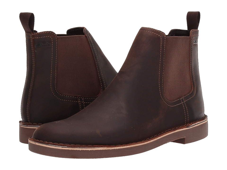 Clarks Bushacre Hill (Dark Brown Leather) Men