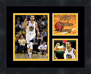 Frames by Mail Stephen Curry Golden State Warriors Framed & Matted Collage 11