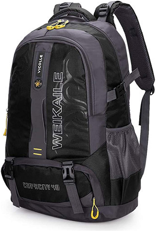 Waterproof Travel Hiking Backpack Bag Outdoor Camping Climbing Bag Mountaineering Nylon Rucksack