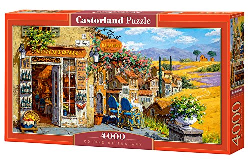 Castorland C400171 Puzzle Colours of Tuscany (4000-piece)
