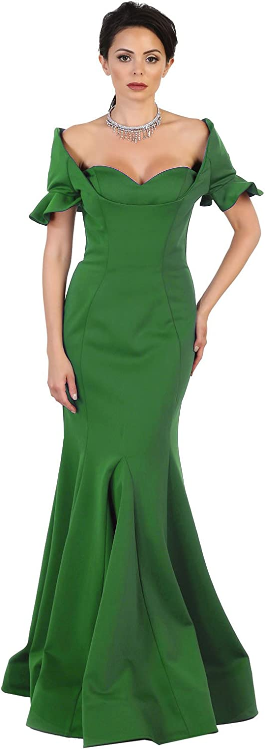 Royal Queen RQ7491 Special Occasion Simple Evening Dress