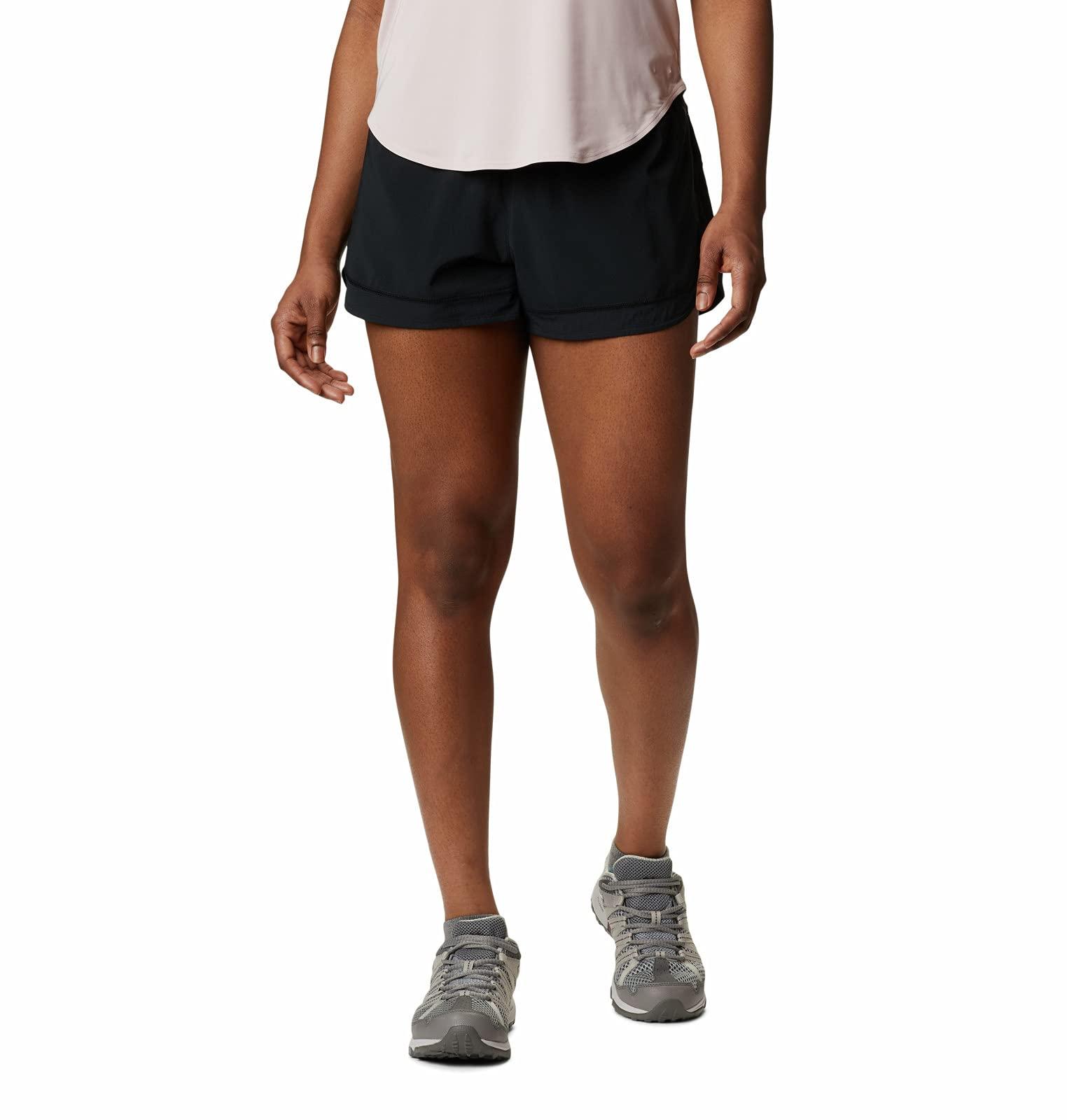 Columbia Shorts für Damen, TITAN ULTRA II Short, Polyester, Schwarz (Black), Gr