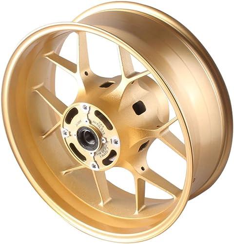 popular Mallofusa 2021 Motorcycle Aluminum Rear Wheel/Rim sale fits for Honda 2012 2013 2014 CBR1000RR Gold sale