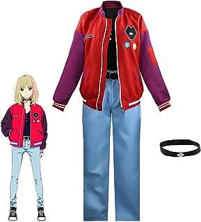 DONGYAO Disfraz de anime Wonder EGG PRIORITY para cosplay con capucha, sudadera con capucha Kawai Rika Cosplay disfraz de ...