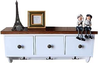 Wall Shelf Étagère murale pour salon, casier, étagère murale décorative, étagère à chaussures, armoire à manteaux avec tir...