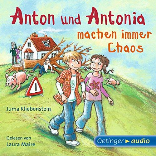 Couverture de Anton und Antonia machen immer Chaos