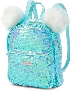 Flip Sequin Pompom Mini Backpack