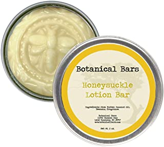 2oz Honeysuckle Lotion Bar All Natural Lotion in Tin