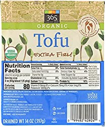 365 Everyday Value, Organic Tofu, Extra Firm, 14 oz