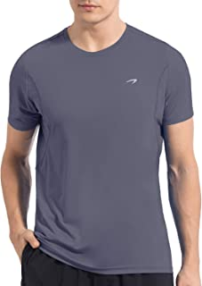 Men's Dry Fit Moisture Wicking Athletic T-Shirt Short Sleeve Gym Workout Running Shirts Cool Dry