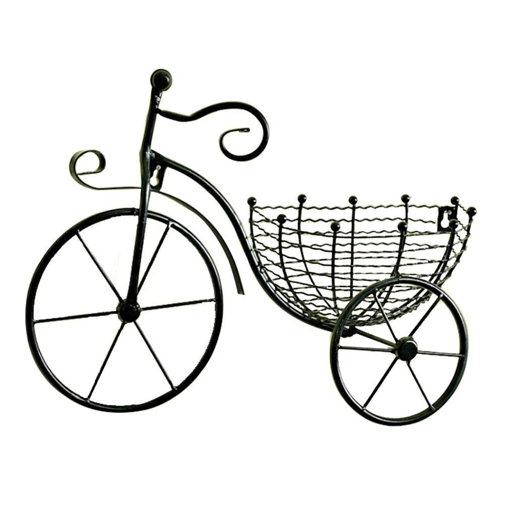 Dytiying Cesta de Hierro para Colgar en la Pared de la Bicicleta ...