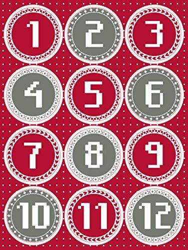 Etiquetas Navidad para Regalos Marca Clairefontaine