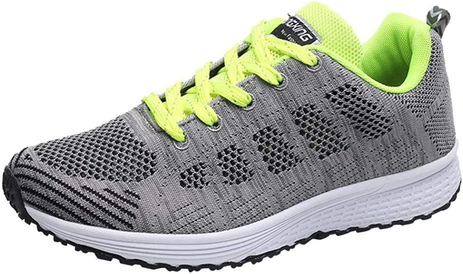 Qiusa Running shoes for Men, Sneakers Trainers Lace-up Flats Flip Flops Thongs Espadrilles Wedge Sports Gym Outdoor Walking Dance Air Workout, Mesh Cross Straps Couple shoes