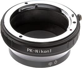 Lens Mount Adapter for PK-N1 Lens Mounr Adapter for Pentax PK K Lens to Nikon 1 Mount Camera Adapter For S1 S2 AW1 V1 V2 V3 J1