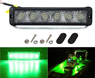 YIDAZN Marine LED Boat Spotlights LED Yacht Light of Strong and Durable 18W 10-30V Input Boat Deck Lights.