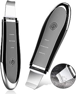 Dispositivo Ultrasónico de Limpieza, YBLNTEK Ultrasónico Facial Skin Scrubber Exfoliación Facial Ultrasónica Limpiador de Poros para Limpieza Facial y Cuidado Facial