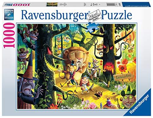 Ravensburger 16566 Löwen, Tiger und Bären, Oh My Zauberer von Oz, 1000-teiliges Puzzle für Erwachsene und Kinder ab 12 Jahren