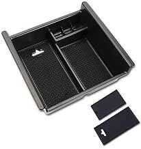 Center Console Organizer Armrest Storage Box ABS Black Tray Divider For Toyota 4Runner Center Console Tray (2010-2018) - Insert Organizer Tray Center
