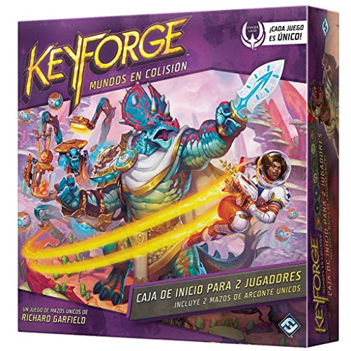 comprar Fantasy Flying Games – Keyforge – Collision Worlds Starter Pack 2 Player Color (KF07ES) calidad precio