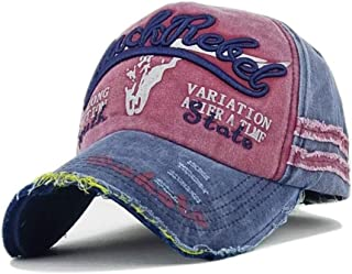 8331410940 Unisexe Casquette de Baseball Vintage Jeans Chapeau de Golf Soleil Plage  Coton Réglable Casquette Visière Anti