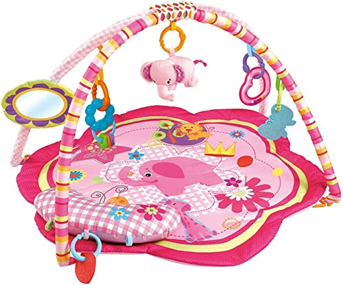 lowest EMILYSTORES wholesale Pink 2021 Baby Acctivity Play Gyms Playmats, Elephant online