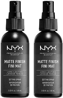 NYX Professional Makeup Setting Spray, długotrwała tekstura, spray utrwalający, lekka, wegańska formuła, matowe wykończeni...