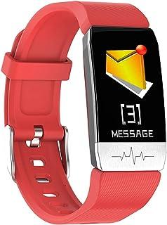 1.14 Pulgada Pulsera Actividad Inteligente Smart Watch Fitness Tracker Impermeable IP67 Monitor De Sueño Podómetro Pulsómetro para Mujer Hombre Niños con iOS Y Android
