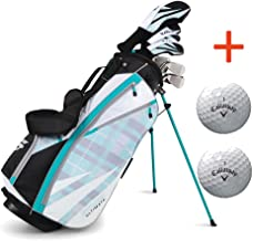 Bundle:Callaway Women's Strata Ultimate Complete Golf Set with Bag, 16-Piece, Right Hand,with Two Balls