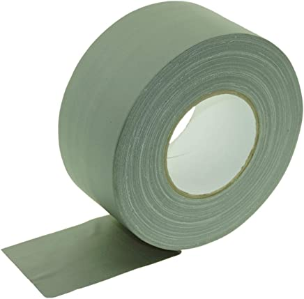 White 2 Inch X 60 YD Package of 1 ROLL 55M ALLTADESPOT Gaffers Tape Heavy Duty Dark Tape Real Premium Grade