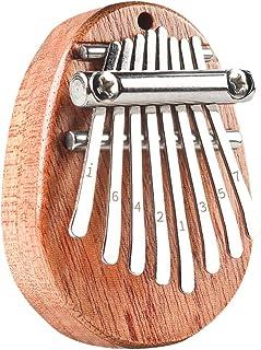 BESPORTBLE 8 Keys Thumb Piano Mini Wood Kalimba Finger Piano Instrument Educational Toys for Beginners