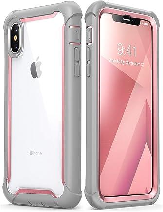 iPhone Xs Max Case, i-Blason [Ares] Full-Body Rugged...