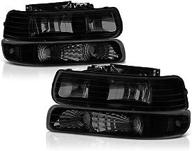 2001 chevy silverado black headlights