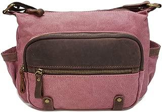 Mens Bag Shoulder Bag Simple Retro Zipper Waterproof Canvas Messenger Bag Color:Gray High capacity