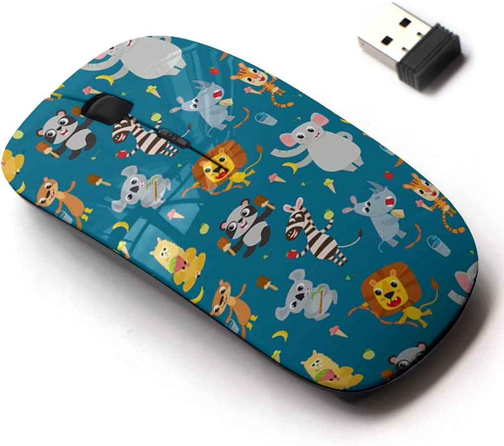 2.4G Wireless Special Campaign Mouse with Cute It is very popular Pattern All for Design Laptops and