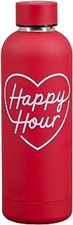 Yes Studio Water Bottle - Happy Hour Water Bottle, Red, YST110