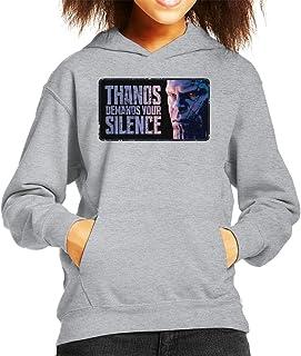 Marvel Avengers Infinity War Thanos Demands Your Silence Kid's Hooded Sweatshirt
