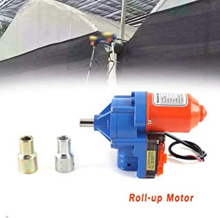 TBvechi Motor 24V 100W Electric Greenhouse Frame Shed Roll-up Motor Automatic Venting Solution