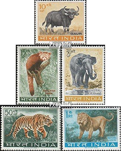 Prophila Collection Indien 358-362 (kompl.Ausg.) 1963 Tiere (Briefmarken für Sammler) Säuger Sonstige