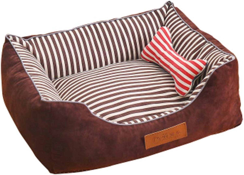 Alien Storehouse Detachable House Pet Mat Stylish Pet Bed Pet House Kennel,Pet Bolster Bed A