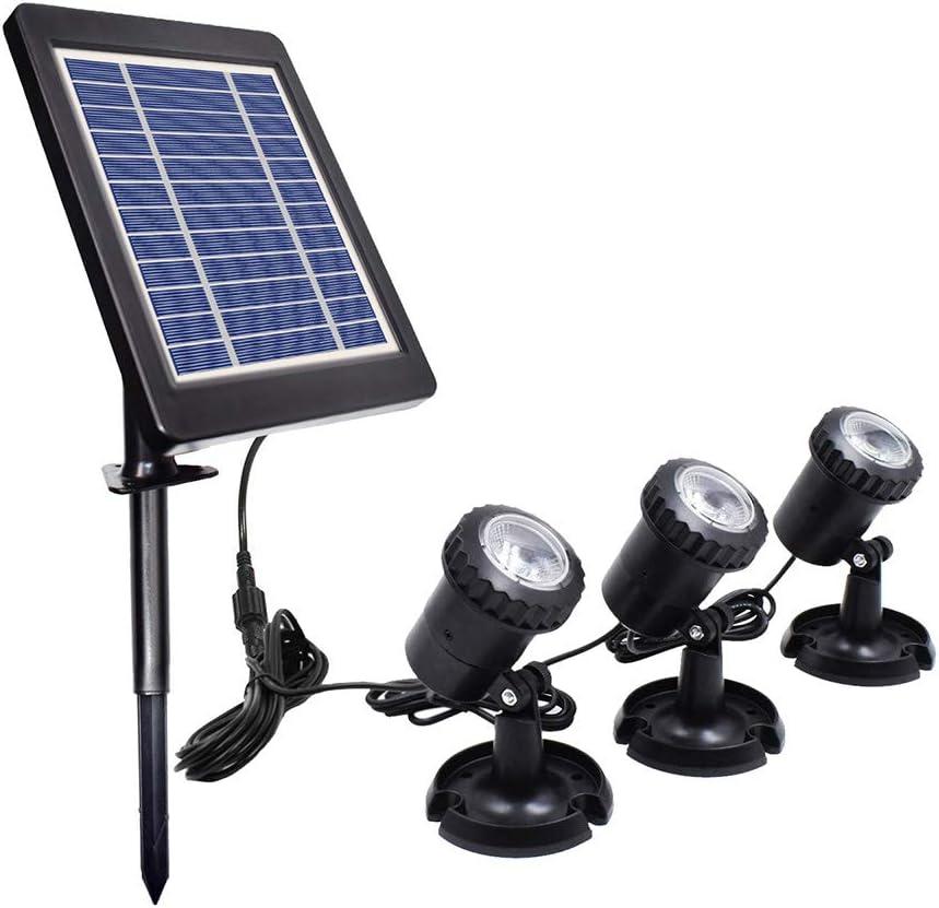品質検査済 ALLOMN Solar LED Landscape Spotlights 70%OFFアウトレット Underwater Ligh Light Pond
