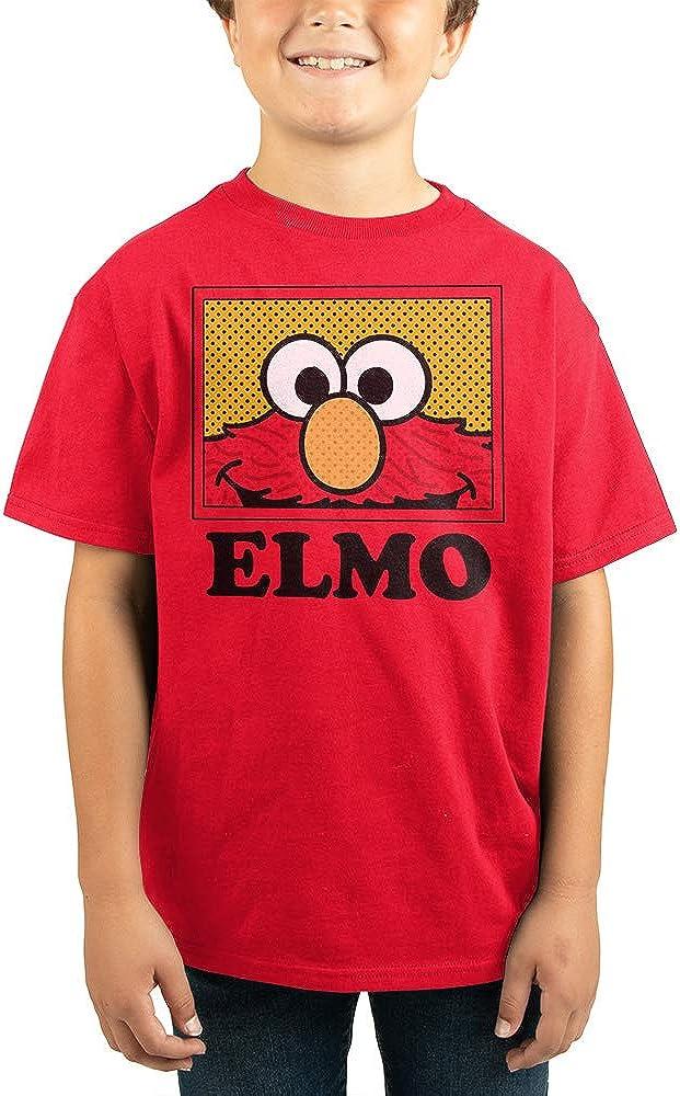 Youth Boys Elmo Shirt Kids Clothing Sesame Apparel Street Ranking TOP11 Ranking TOP10