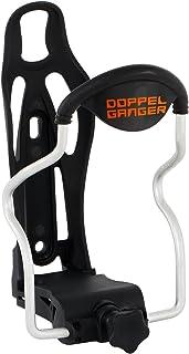 DOPPELGANGER(ドッペルギャンガー) アジャスタブル ボトルケージ [ボトル直径78(mm)まで対応] サイクル用ドリンクホルダー 台湾製 ブラック DBC335-BK