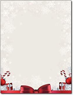 Holiday Present Stationery - 80 Sheets - Great for Flyers, Invitations, or Letters