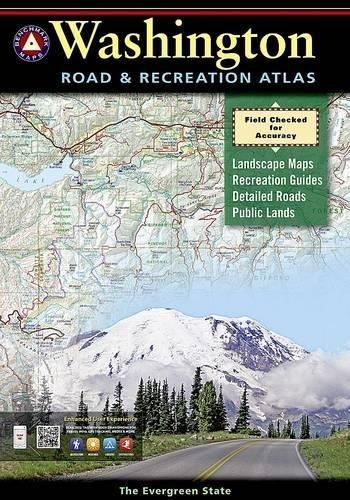 Washington Benchmark Road & Recreation Atlas