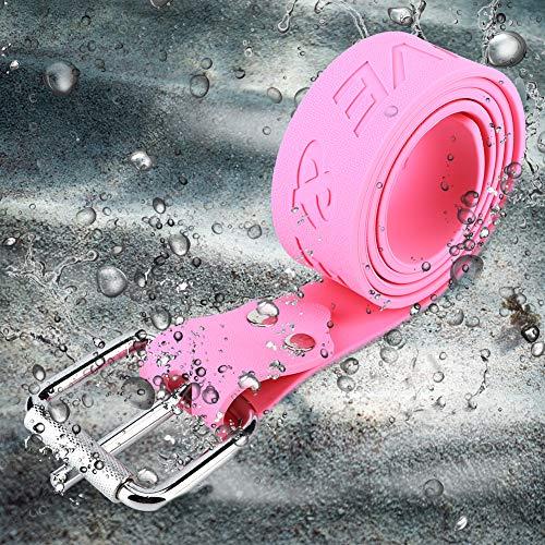HAOX Buceo Cinturón de Peso, fiabilidad Durable con Hebilla Buceo Cinturón de Peso Cinturón de Cintura, Caucho para Buceo Accesorios de Buceo Esnórquel Accesorios de esnórquel(Diving Belt)