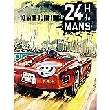 Wee Blue Coo Vintage Advert Transport 24H Du Mans Monaco